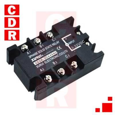 XSSR-3DA4840 3 PHASE SSR DC TO AC 3-32VDC 40A-480VAC XURUI