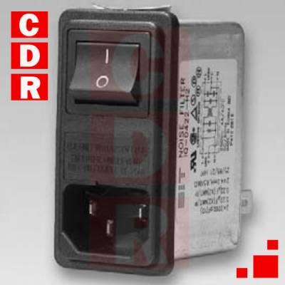 FILTRO DE LINEA 6A CHASIS CL1-F60-12 24X17X39MM METALICO DIT