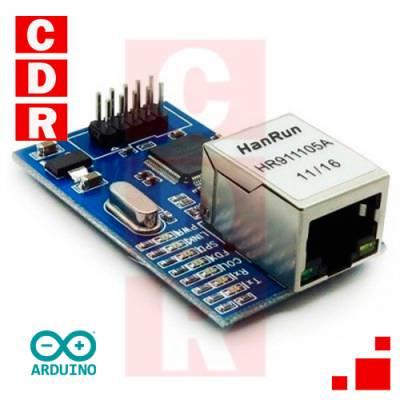 W5100 ETHERNET PCB ARDUINO