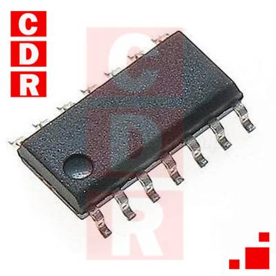 74HC08D SMD QUAD 2-IMPUT AND GATE SO-14 CASE