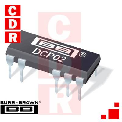 DCP022415DP MINIATURE 2W ISOLATED  UNREGULATED DC/DC CONVERTERS DIP-14 CASE BURR-BROWN