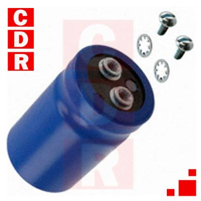 CAP. ELECTR. RADIAL CAN SCREW 220UF 450V 85º UNITED CHEMI-CON