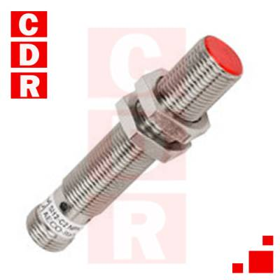 SI12-C2 PNP NO INDUCTIVE PROXIMITY SENSOR 12MM DIAMETER AECONICKEL-PLATED BRASS 10-30 VDC 3-WIRE PNP SHIELDED 2MM SENSING DISTANCEN.O. OUTPUT M12 QUICK-DISCONNE