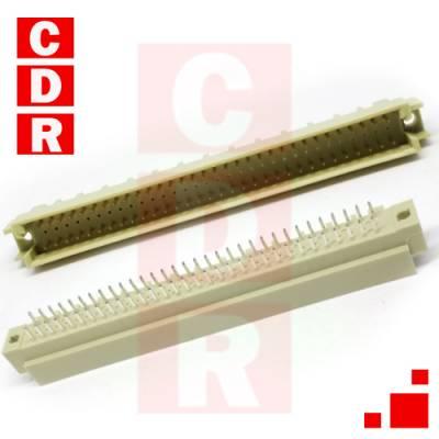 EUROCONECTOR A+C MACHO 90° 2X32