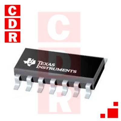 74HC32D QUADRUPLE 2-INPUT OR GATE SOIC-14 CASE MARCA: TEXAS