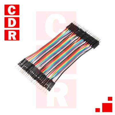 1 OF 10 MALE PIN DUPON PLAST TO ASSEMBLE CABLE PROTOBOARD KIT 20 U.