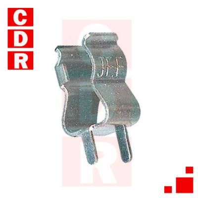 PORTAFUSIBLE CLIP 20X5MM (Y)