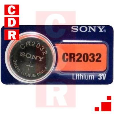 CR2032 PILA DE LITHIUM 3V SONY